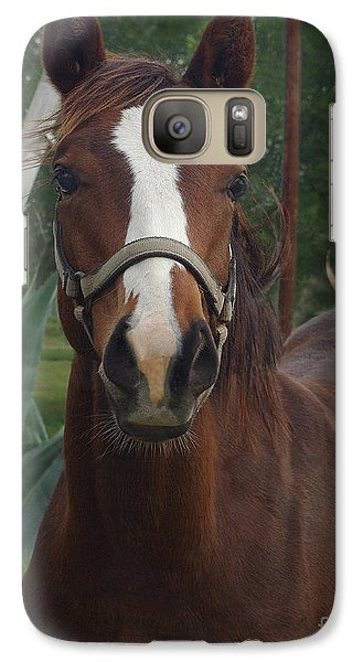 Galaxy Case featuring the photograph Stared Down by Peter Piatt