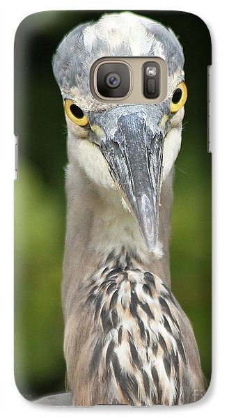 Galaxy Case featuring the photograph Staredown by Heather King