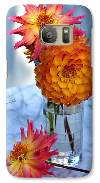 Galaxy Case featuring the photograph Starfire by Jeanette C Landstrom