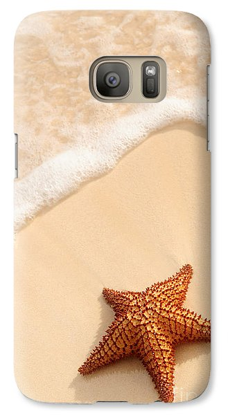 Starfish And Ocean Wave Galaxy S7 Case
