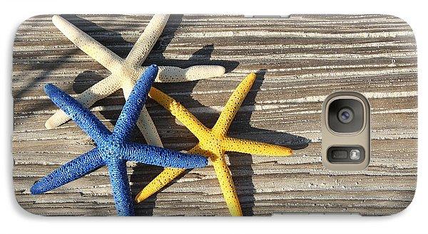 Galaxy Case featuring the photograph Starfish by Elizabeth Budd