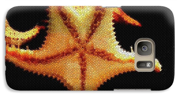 Galaxy Case featuring the photograph Starfish In Mosaic by Janette Boyd
