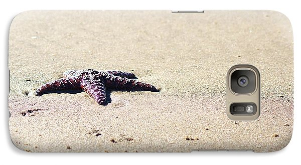 Galaxy Case featuring the photograph Starfish On The Beach by Angi Parks