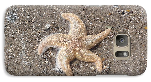 Galaxy Case featuring the photograph Starfish by Tiffany Erdman