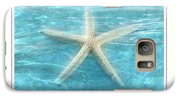 Galaxy Case featuring the photograph Starfish Underwater by Linda Olsen