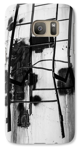 Galaxy Case featuring the photograph Stark Reach - Abstract by Steven Milner
