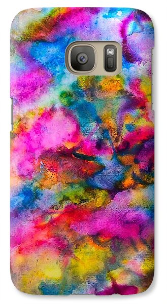 Galaxy Case featuring the painting Starlight by  Heidi Scott