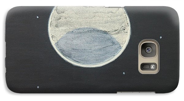 Galaxy Case featuring the painting Starlight by Mini Arora