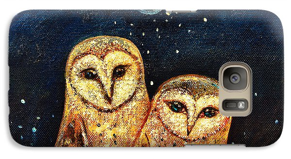 Starlight Owls Galaxy S7 Case by Shijun Munns