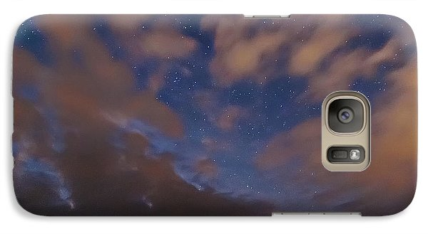 Galaxy Case featuring the photograph Starlight Skyscape by Marty Saccone
