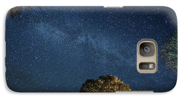 Galaxy Case featuring the photograph Starry Skies by Martin Konopacki