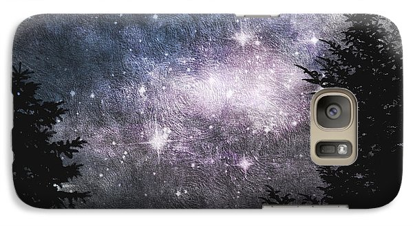 Galaxy Case featuring the photograph Starry Starry Night by Cynthia Lassiter