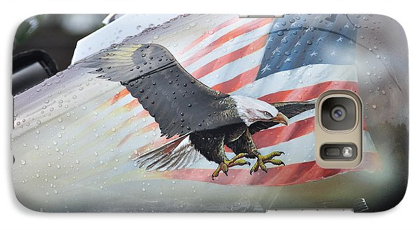 Galaxy Case featuring the photograph Stars And Stripes by Graham Hawcroft pixsellpix