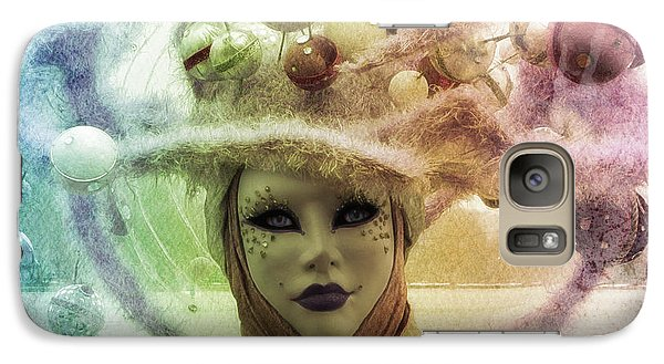 Galaxy Case featuring the digital art Stars Around Me by Barbara Orenya