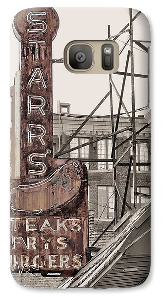 Stars Steaks Frys And Burgers Galaxy S7 Case