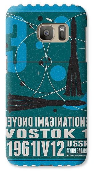 Science Fiction Galaxy S7 Case - Starschips 03-poststamp - Vostok by Chungkong Art