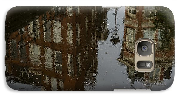 Galaxy Case featuring the photograph Starting To Rain... by Georgia Mizuleva