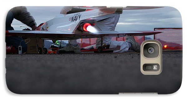 Galaxy Case featuring the photograph Startup by David S Reynolds