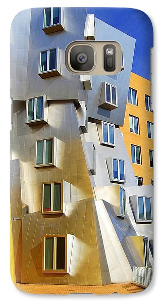 Galaxy Case featuring the photograph Stata Building At M I T by Caroline Stella