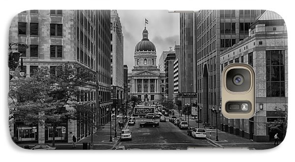 Galaxy Case featuring the photograph State Capitol Building by Howard Salmon