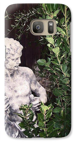 Galaxy Case featuring the photograph Statue 1 by Pamela Cooper