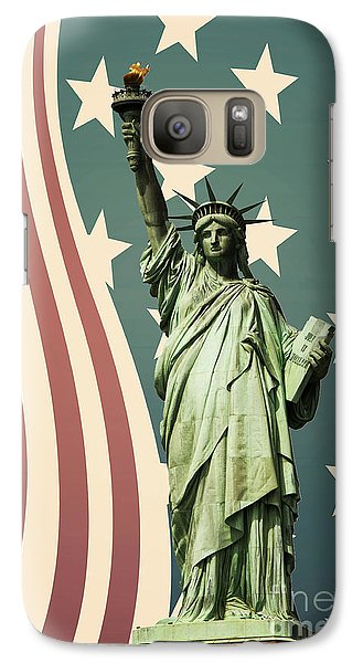 Statue Of Liberty Galaxy S7 Case
