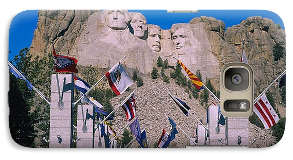 Statues On A Mountain, Mt Rushmore, Mt Galaxy S7 Case