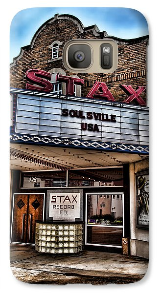 Stax Records Galaxy S7 Case by Stephen Stookey