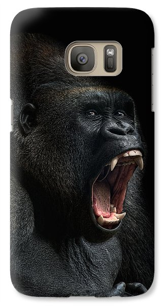 Gorilla Galaxy S7 Case - Stay Away by Joachim G Pinkawa