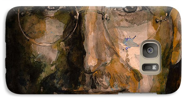 Galaxy Case featuring the painting Steve... by Laur Iduc