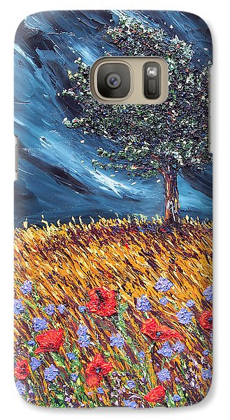 Galaxy Case featuring the painting Steadfast Love by Meaghan Troup