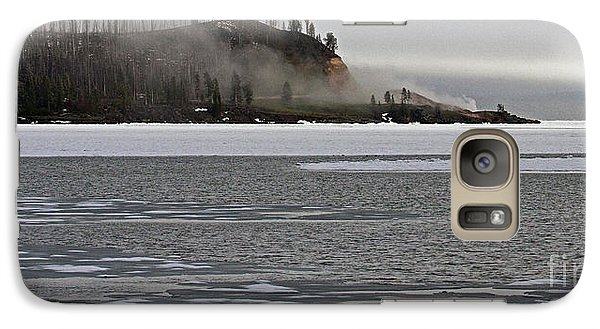 Galaxy Case featuring the photograph Steam Boat Point by J L Woody Wooden