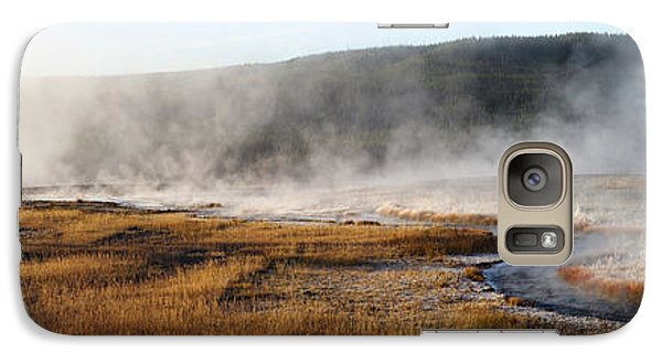Galaxy Case featuring the photograph Steam Creek by David Andersen