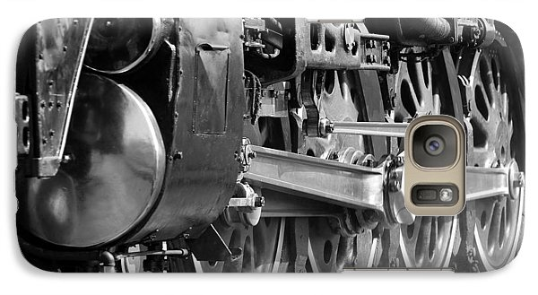 Galaxy Case featuring the photograph Steam Engine 3985 by John Freidenberg