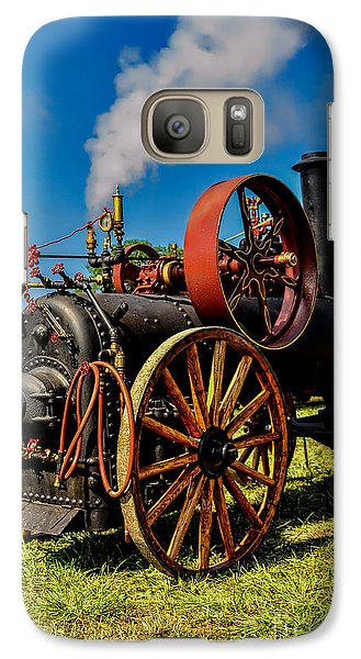Galaxy Case featuring the photograph Steam Engine by Trey Foerster