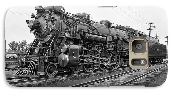 Steam Locomotive Crescent Limited C. 1927 Galaxy S7 Case by Daniel Hagerman