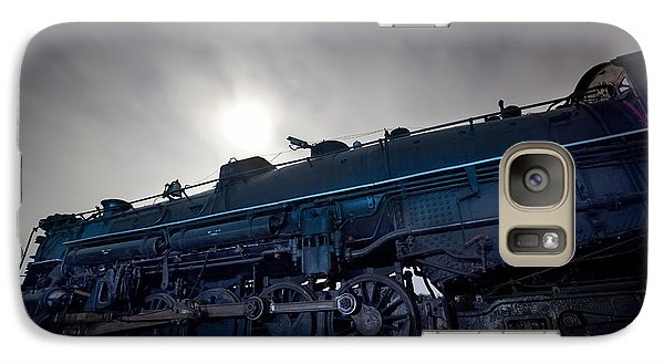 Galaxy Case featuring the photograph Steam Locomotive by Keith Kapple