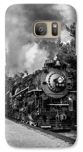 Steam On The Rails Galaxy S7 Case