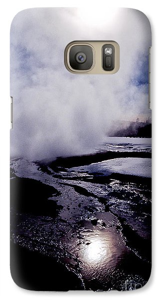 Galaxy Case featuring the photograph Steam by Sharon Elliott