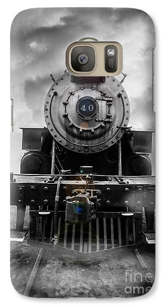 Train Galaxy S7 Case - Steam Train Dream by Edward Fielding