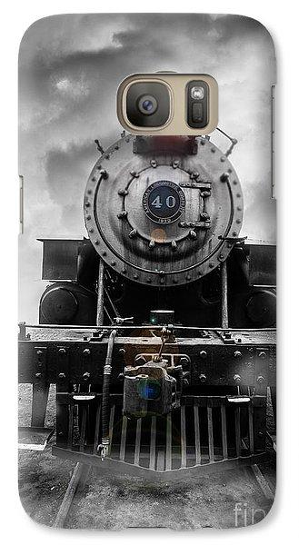 Train Galaxy S7 Case - Steam Train Dream by Edward Fielding