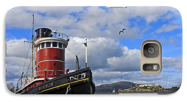 Galaxy Case featuring the photograph Steam Tug Hercules by Kate Brown