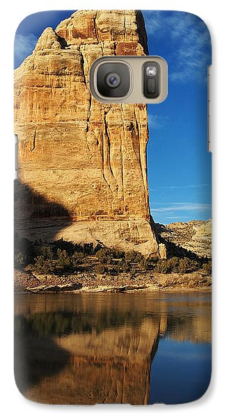 Steamboat Rock In Dinosaur National Monument Galaxy S7 Case