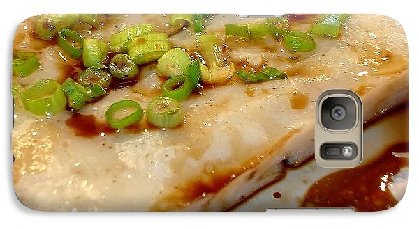 Galaxy Case featuring the photograph Steamed Cantonese Fish Cake by Katy Mei