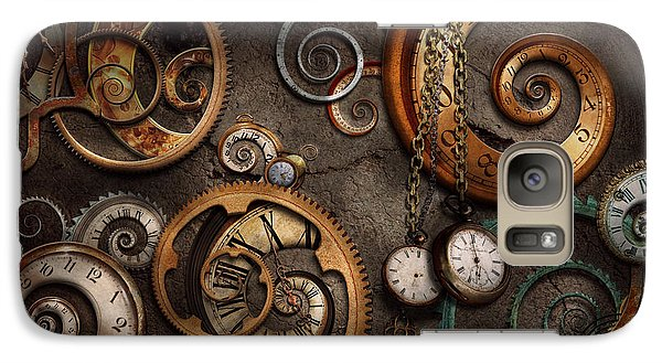 Steampunk - Abstract - Time Is Complicated Galaxy S7 Case