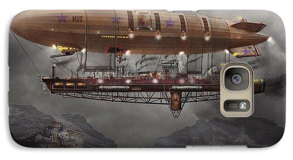 Steampunk - Blimp - Airship Maximus  Galaxy S7 Case