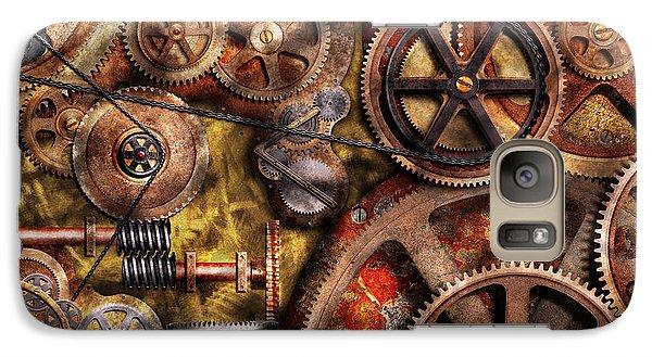 Steampunk - Gears - Inner Workings Galaxy S7 Case