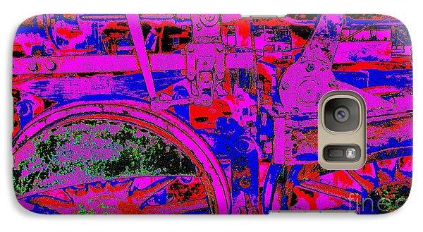 Galaxy Case featuring the photograph Steampunk Iron Horse #4 by Peter Gumaer Ogden