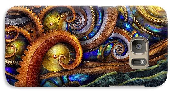 Steampunk - Starry Night Galaxy S7 Case