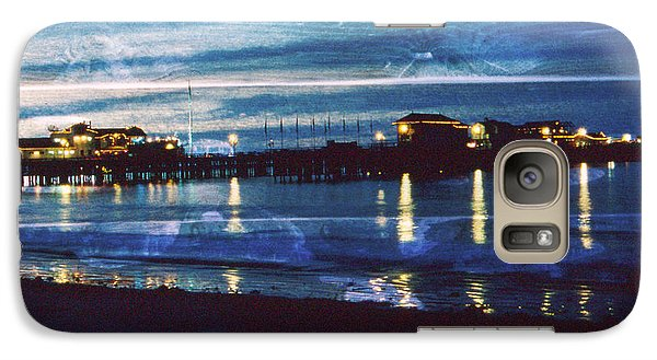 Galaxy Case featuring the photograph stearns Warf S.B. Calif by Gary Brandes